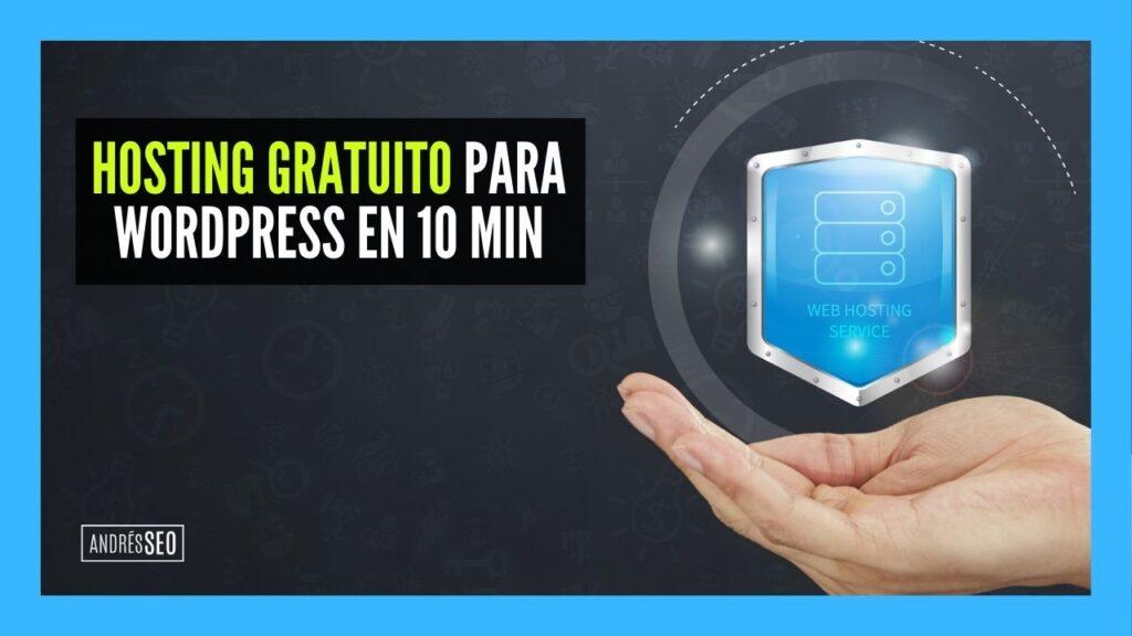 Hosting gratis para wordpress en 10 min